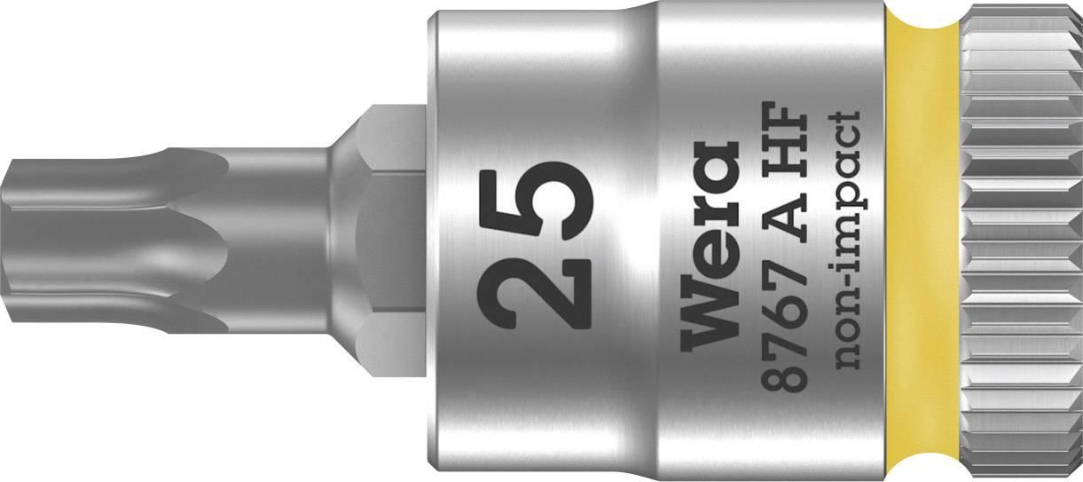 """Nástrčný kľúč, Torx Wera 8767 A 05003365001, 1/4"""" (6,3 mm), chróm-vanadiová oceľ"""