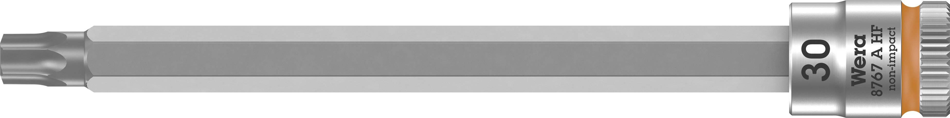 """Nástrčný kľúč, Torx Wera 8767 A 05003370001, 1/4"""" (6,3 mm), chróm-vanadiová oceľ"""