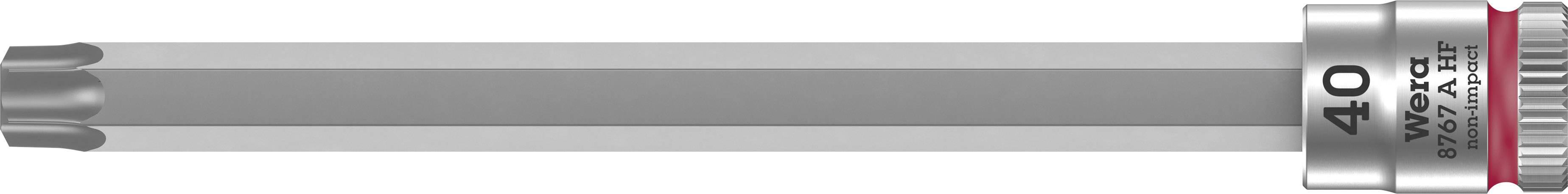 """Nástrčný kľúč, Torx Wera 8767 A 05003372001, 1/4"""" (6,3 mm), chróm-vanadiová oceľ"""