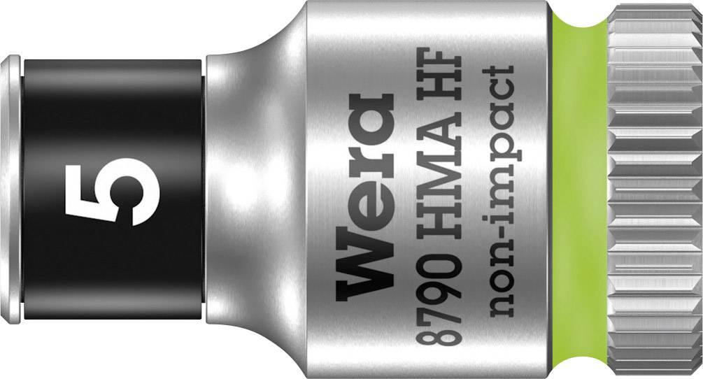 """Vložka pro nástrčný klíč Wera 8790 HMA, 5 mm, vnější šestihran, 1/4"""" (6,3 mm), chrom-vanadová ocel 05003719001"""