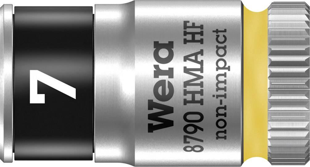 """Vložka pro nástrčný klíč Wera 8790 HMA, 7 mm, vnější šestihran, 1/4"""" (6,3 mm), chrom-vanadová ocel 05003722001"""