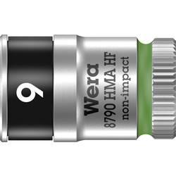 """Vložka pro nástrčný klíč Wera 8790 HMA, 9 mm, vnější šestihran, 1/4"""" (6,3 mm), chrom-vanadová ocel 05003724001"""