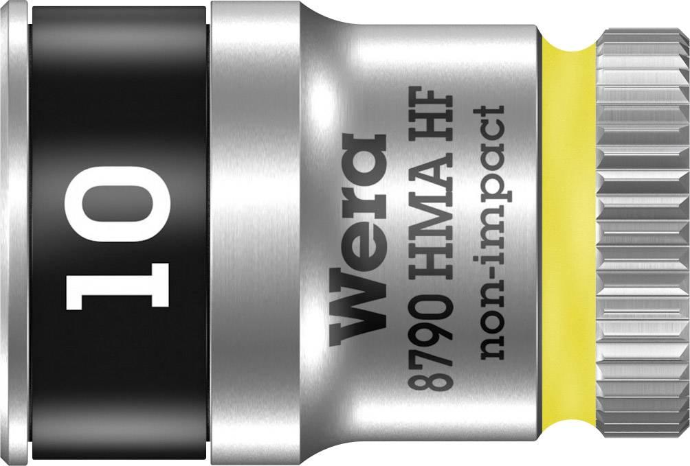 """Vložka pro nástrčný klíč Wera 8790 HMA, 10 mm, vnější šestihran, 1/4"""" (6,3 mm), chrom-vanadová ocel 05003725001"""