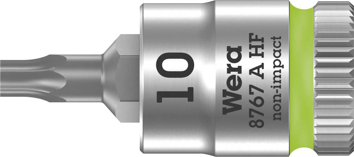 """Nástrčný kľúč, Torx Wera 8767 A 05003362001, 1/4"""" (6,3 mm), chróm-vanadiová oceľ"""