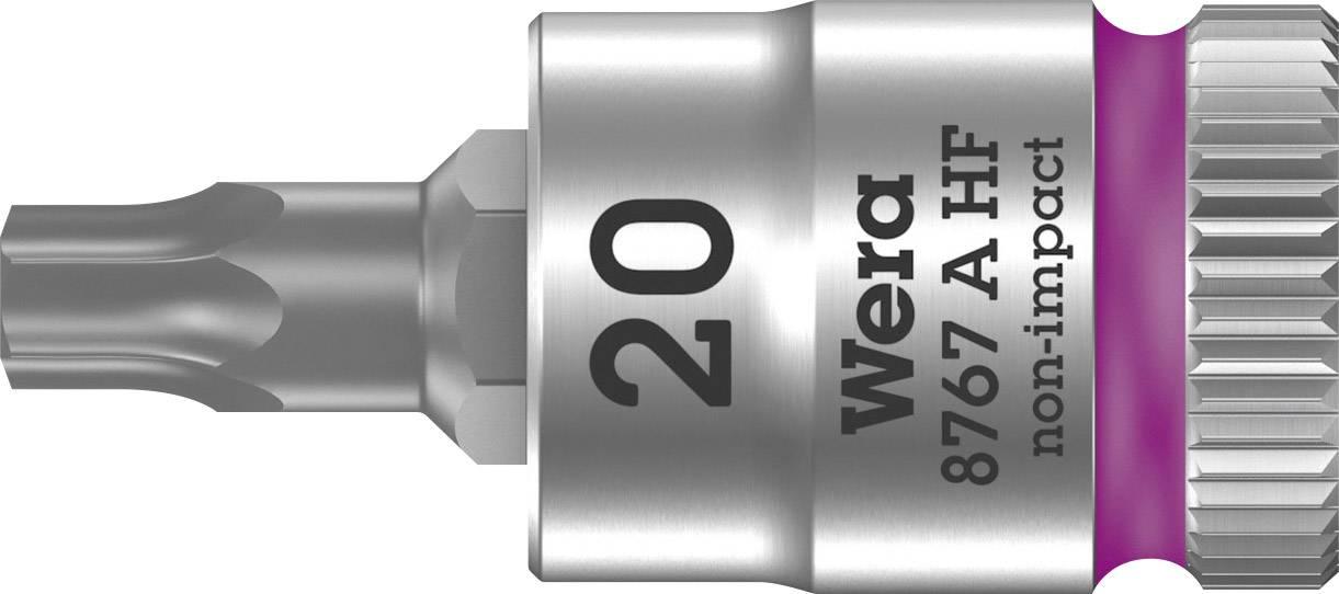 """Nástrčný kľúč, Torx Wera 8767 A 05003364001, 1/4"""" (6,3 mm), chróm-vanadiová oceľ"""