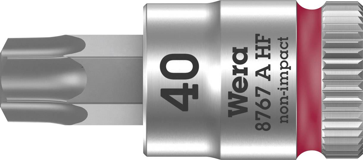 """Nástrčný kľúč, Torx Wera 8767 A 05003371001, 1/4"""" (6,3 mm), chróm-vanadiová oceľ"""