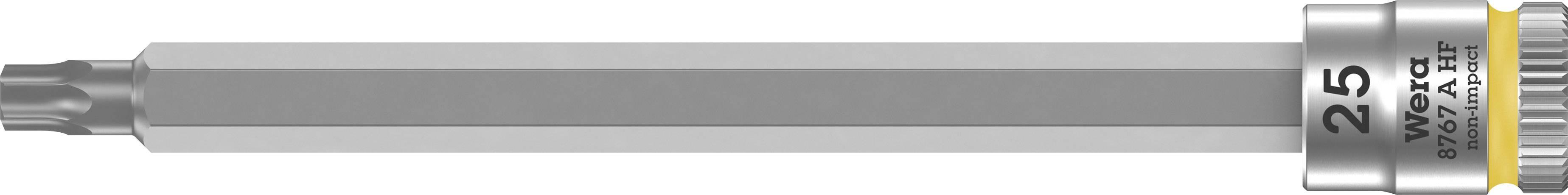 """Nástrčný kľúč, Torx Wera 8767 A 05003366001, 1/4"""" (6,3 mm), chróm-vanadiová oceľ"""
