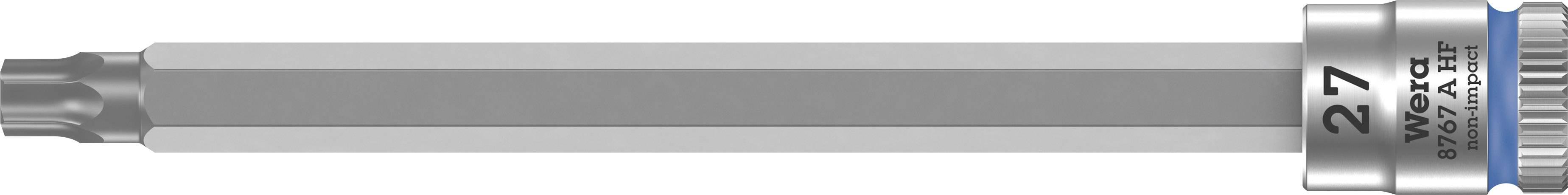 """Nástrčný kľúč, Torx Wera 8767 A 05003368001, 1/4"""" (6,3 mm), chróm-vanadiová oceľ"""