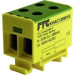 FTG Friedrich Göhringer KVIAC12050YG svorkovnice žlutá, zelená 1pólový 50 mm² 320 A, 290 A Typ vodiče = PE