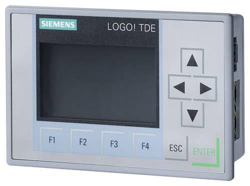 PLC rozšiřující displej Siemens LOGO! TD 6ED1055-4MH08-0BA0, 12 V/DC, 24 V/DC, 24 V/AC