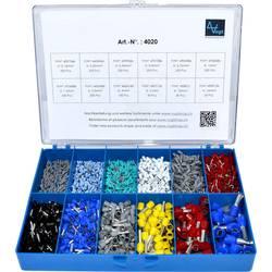 Sada dutinek 0.14 mm² 16 mm² šedá, světle modrá, tyrkysová, bílá, červená, černá, modrá, žlutá Vogt Verbindungstechnik 4020 2110 ks