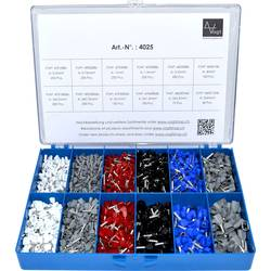 Sada dutinek 0.50 mm² 4 mm² bílá, šedá, červená, černá, modrá Vogt Verbindungstechnik 4025 2065 ks