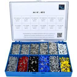 Sada dutinek 0.50 mm² 6 mm² stříbrná, bílá, šedá, červená, černá, modrá, žlutá Vogt Verbindungstechnik 4015 3650 ks