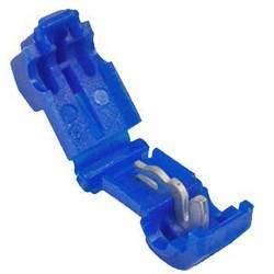 Samořezná rychlospojka Vogt Verbindungstechnik pro kabel o rozměru 1-2.50 mm², 250 ks, modrá