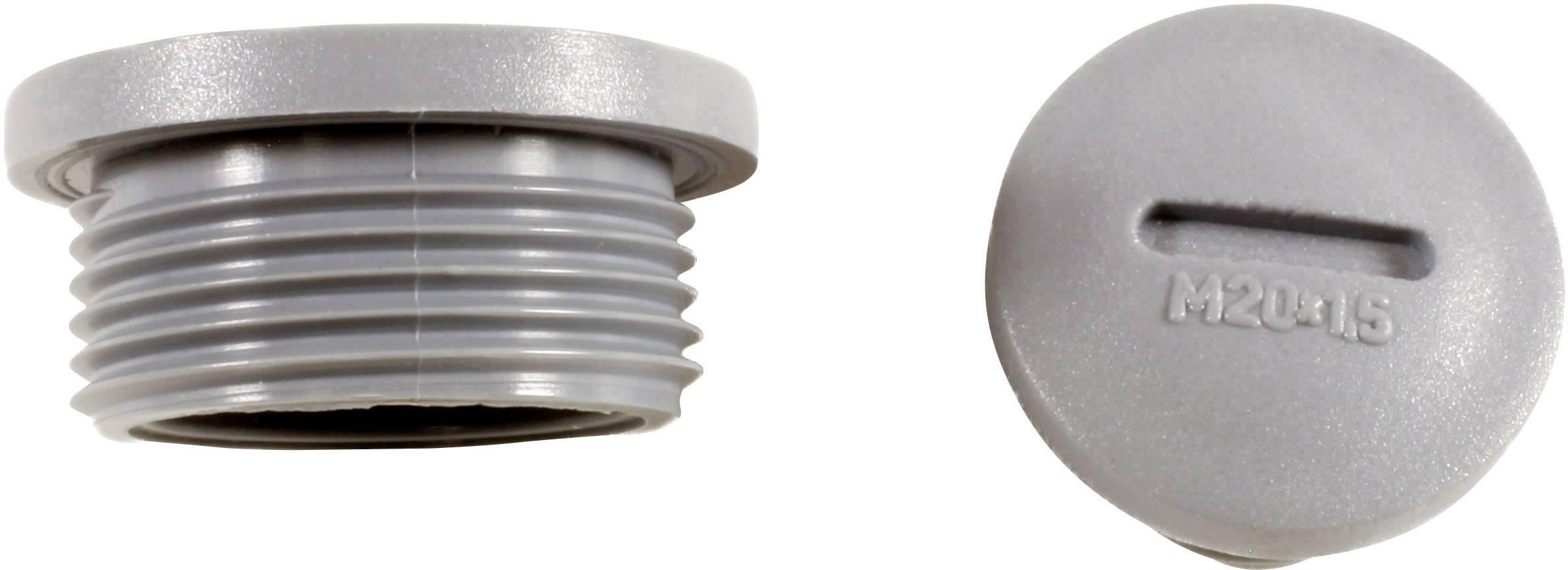 Kabelová průchodka AlphaWire HPP13 SL080, HPP13 SL080, polyamid, břidlicová šedá, 1 ks