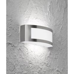 Venkovní nástěnné osvětlení WOFI Kasan 4040.01.97.7000, E27, 15 W, nerezová ocel kartáčovaná