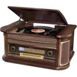 USB gramofon s Bluetooth Roadstar HIF-2030BT, dřevo