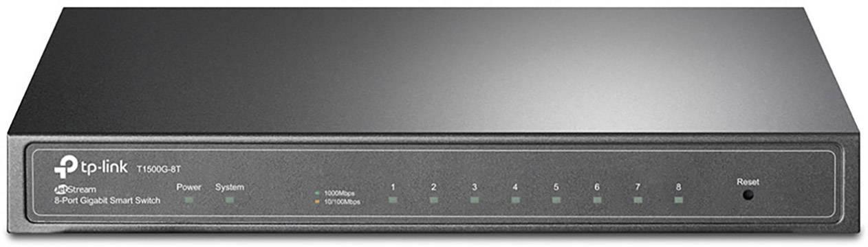 Síťový switch TP-LINK, T1500G-8T, 8 portů