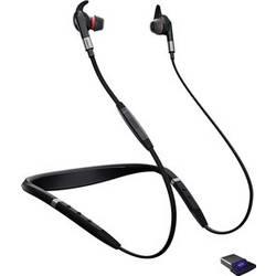 Telefonní headset s Bluetooth bez kabelu Jabra Evolve 75e UC do uší černá