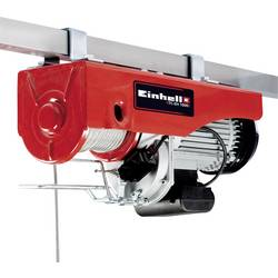 Elektrický lanový kladkostroj Einhell 2255160, 500 kg/999 kg, zdvih 18000 mm/9000 mm