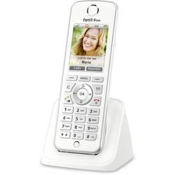 Bezdrátový VoIP telefon AVM FRITZ!Fon C4 International, bílá, stříbrná