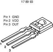 Světelný senzor Taos TSL 250 = 250R, 2,7 - 5,5 V/DC