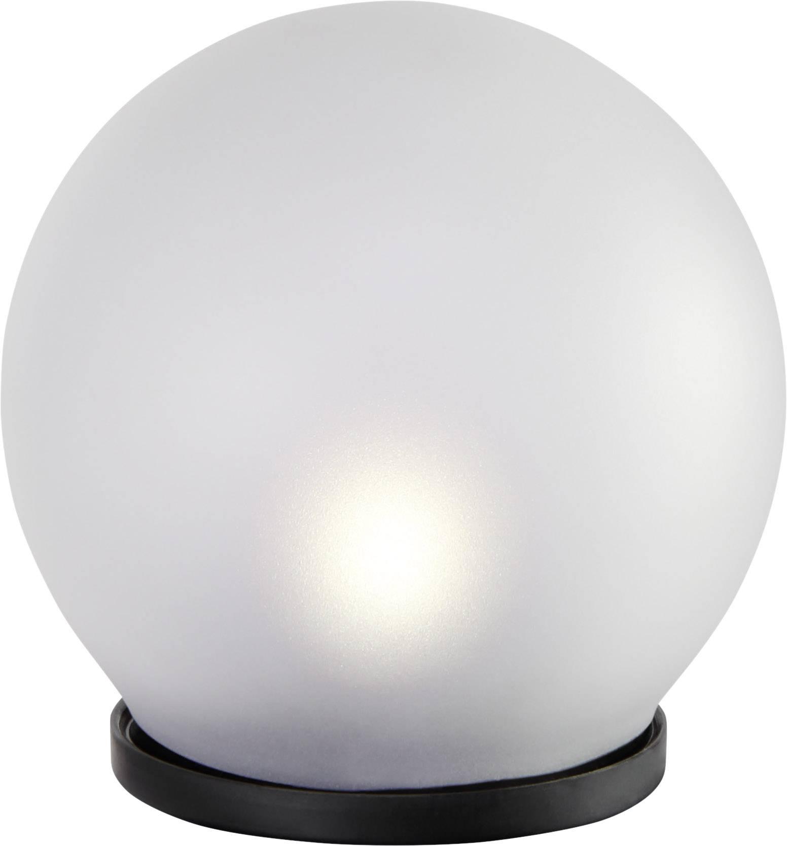 LED solární zahradní svítidlo Polarlite Frosted 100 PL-8213575, 0.08 W, IP44, matné sklo, neutrálně bílá