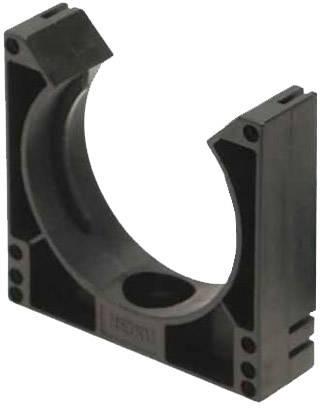 Držák ochranné hadice Helukabel SHV-Systemhalter SW NW16/17 920330, 16 mm, černá, 1 ks