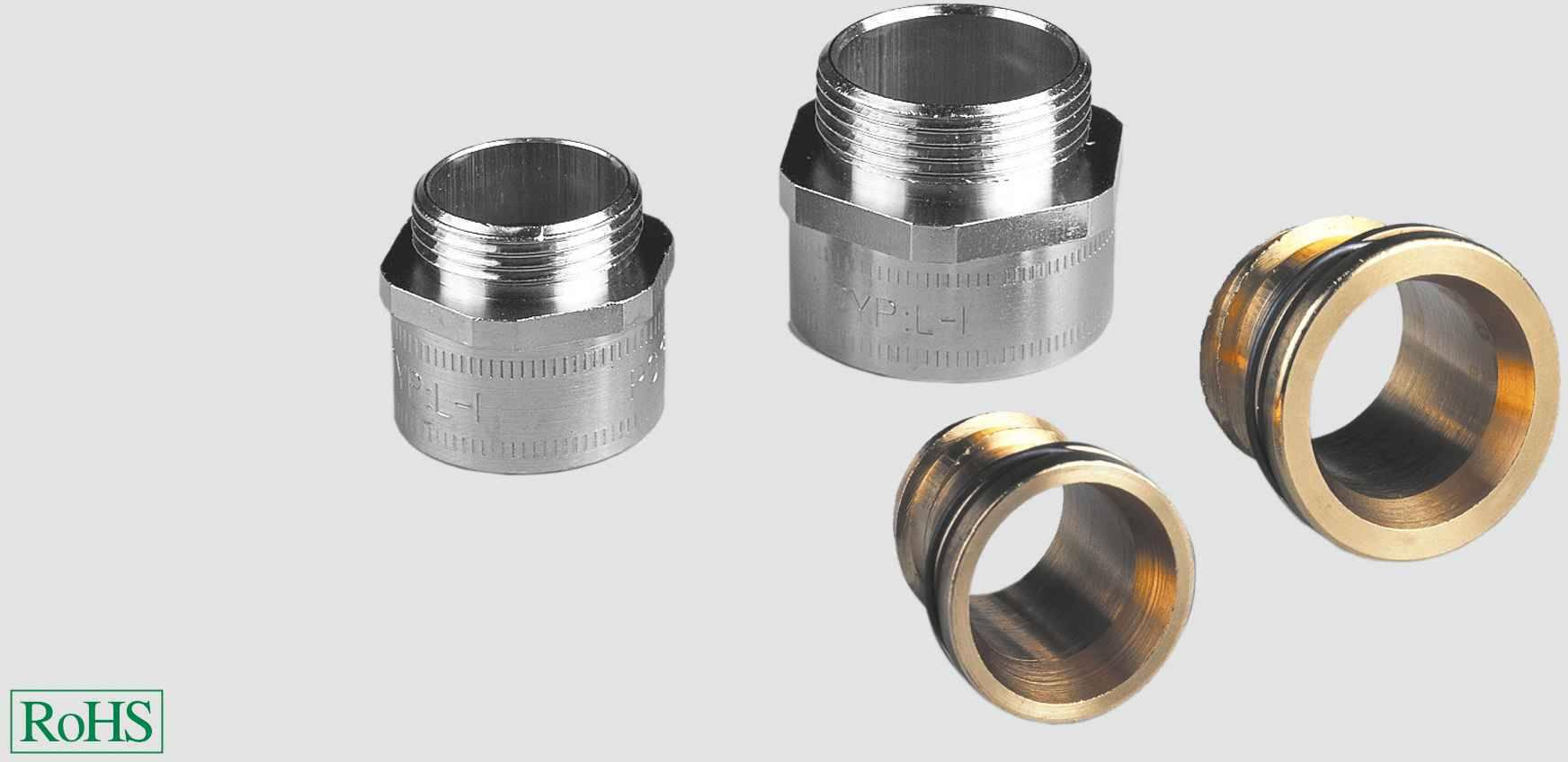 Hadicová spojka rovná Helukabel LK-I PG48 grau 90729, PG48, šedá, 1 ks