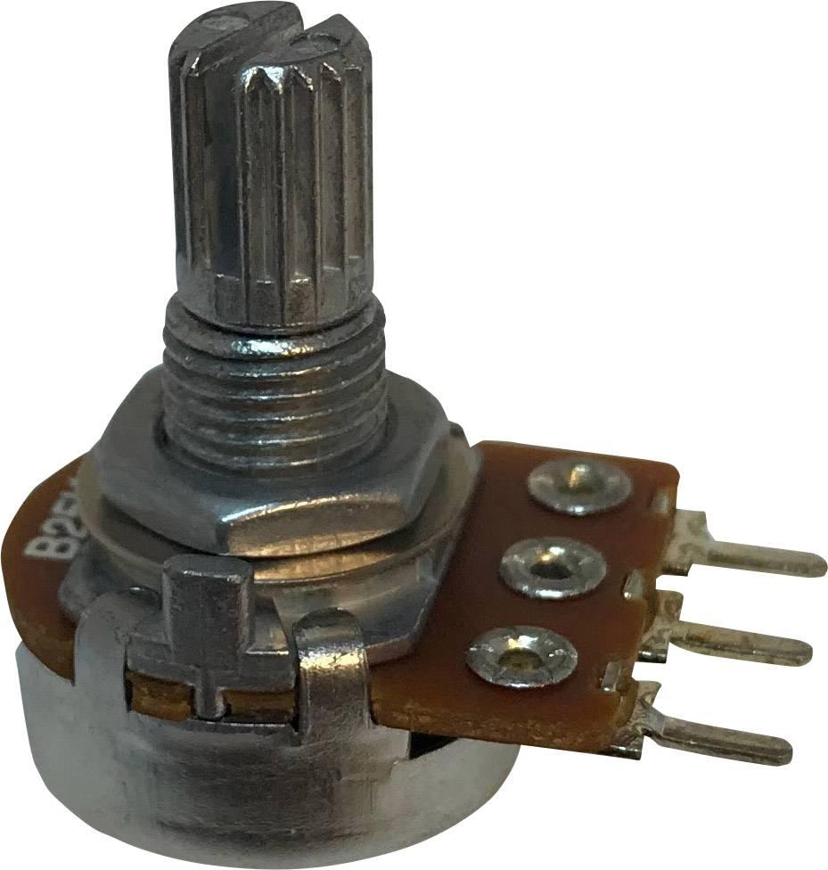 Otočný potenciometr 1cestný Mono Potentiometer Service RV16AF-20-15K-B100K RV16AF-20-15K-B100K-3, 0.2 W, 1 ks