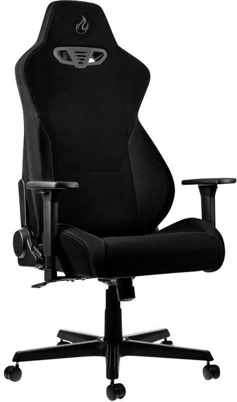 Herná stolička Nitro Concepts S300 Stealth Black, NC-S300-B, čierna