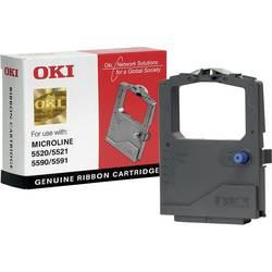 Barevná páska OKI 01126301 ML5520 ML5521 ML5590 ML5591, originál, černá 1 ks