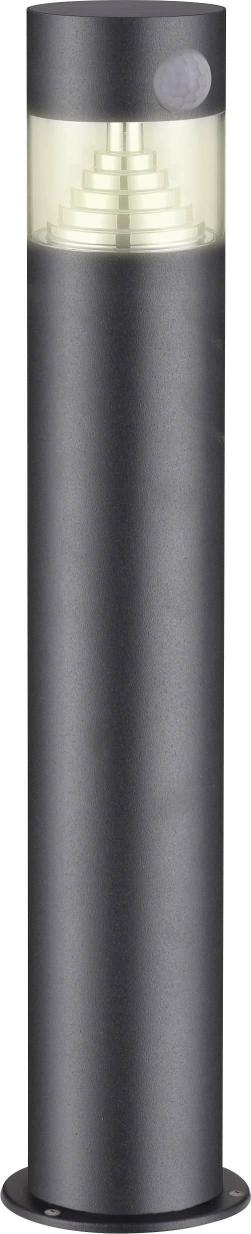 Solární zahradní svítidlo s PIR detektorem Polarlite DC05PIR PL-8228620, teplá bílá, tmavě šedá