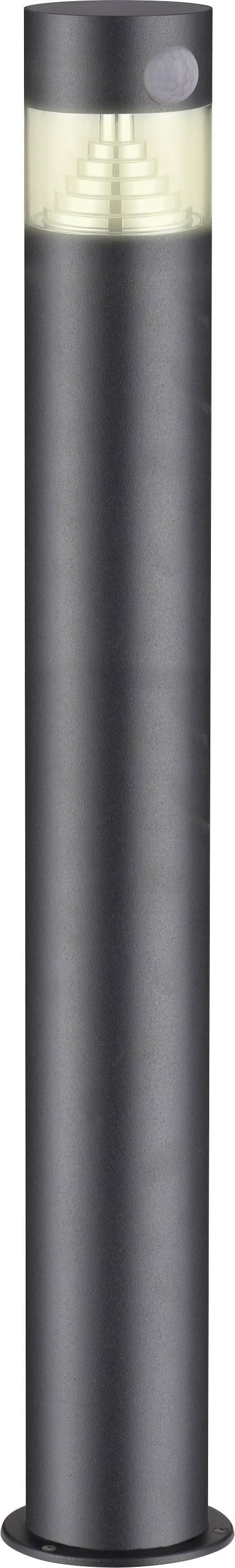 Solární zahradní svítidlo s PIR detektorem Polarlite PL-8228630 DC04PIR teplá bílá, tmavě šedá