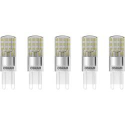 LED žiarovka OSRAM 4058075093836 230 V, G9, 2.6 W = 30 W, teplá biela, A ++ (A ++ - E), špeciálny tvar, 5 ks