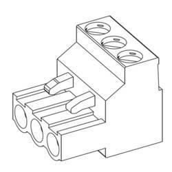 Zástrčkový konektor na kabel TE Connectivity 796634-2, pólů 2, rozteč 5.08 mm, 1 ks