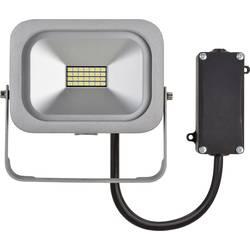 Stavební reflektor Brennenstuhl Slim 1172900100, 10 W, stříbrná