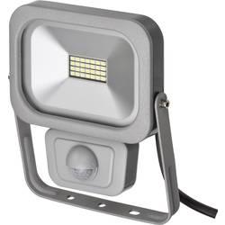 Stavební reflektor Brennenstuhl Slim 1172900101, 10 W, stříbrná