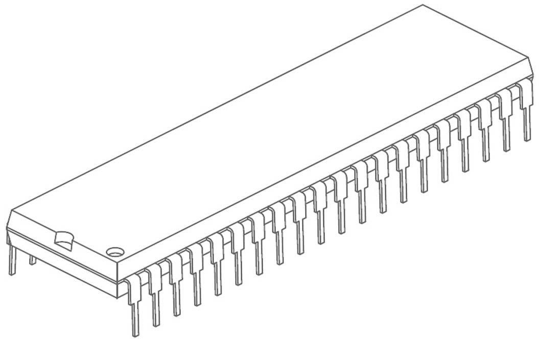 Mikroradič Microchip Technology PIC16F874A-I/P, PDIP-40, 8-Bit, 20 MHz, I/O 33
