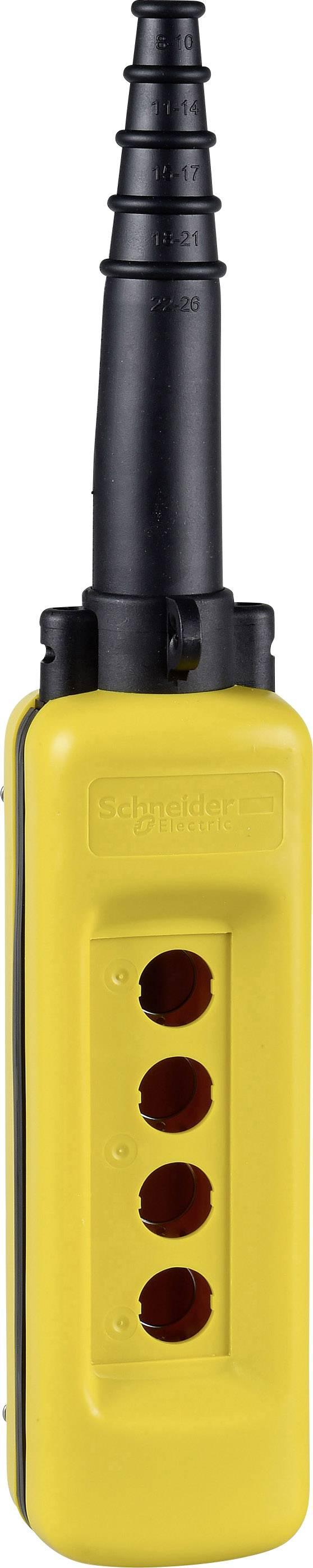 Prázdné pouzdro Schneider Electric XACA04 XACA04, 1 ks