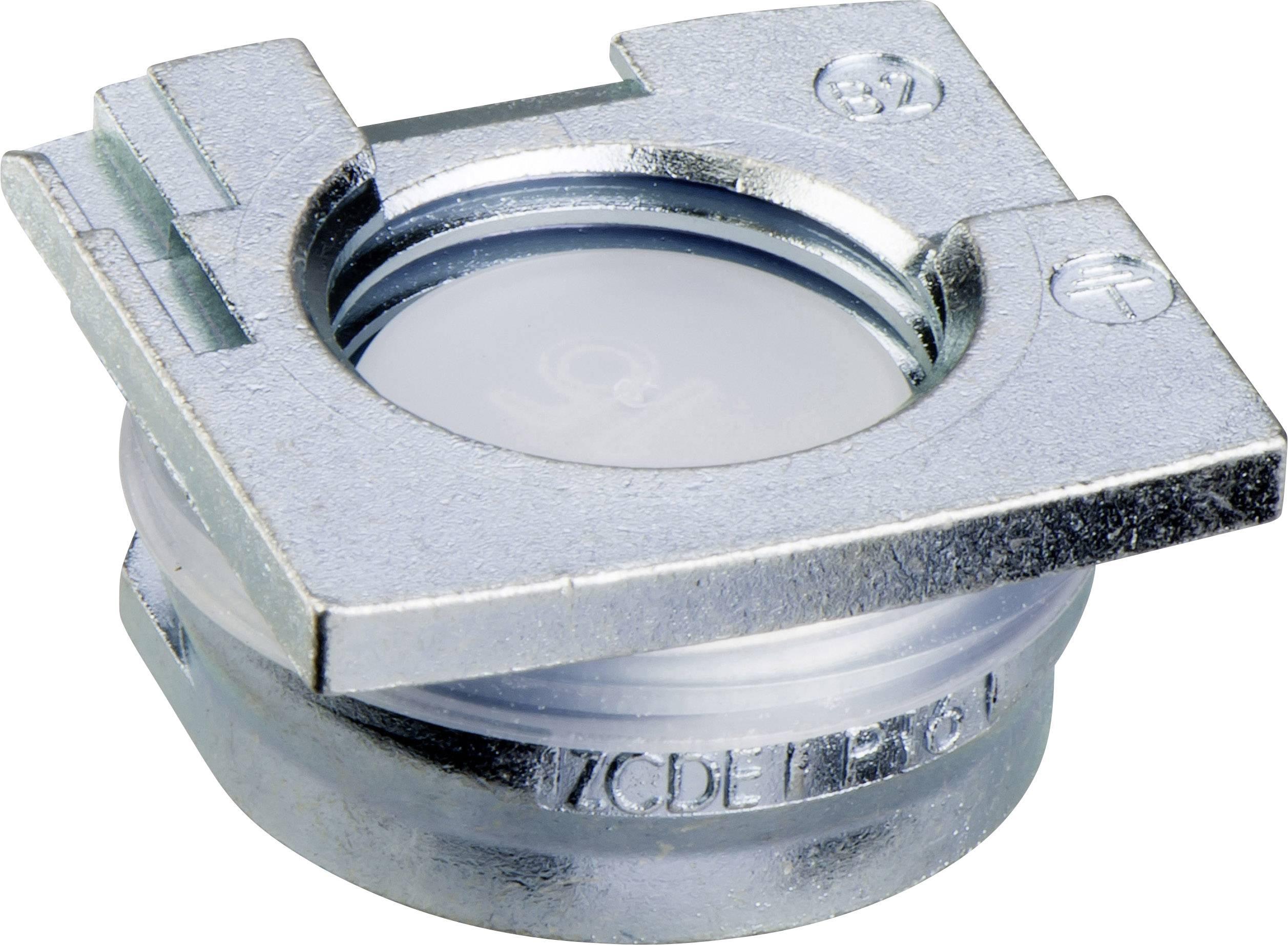 Destička pro kabelové průchodky Schneider Electric ZCDEP16, kov, 1 ks