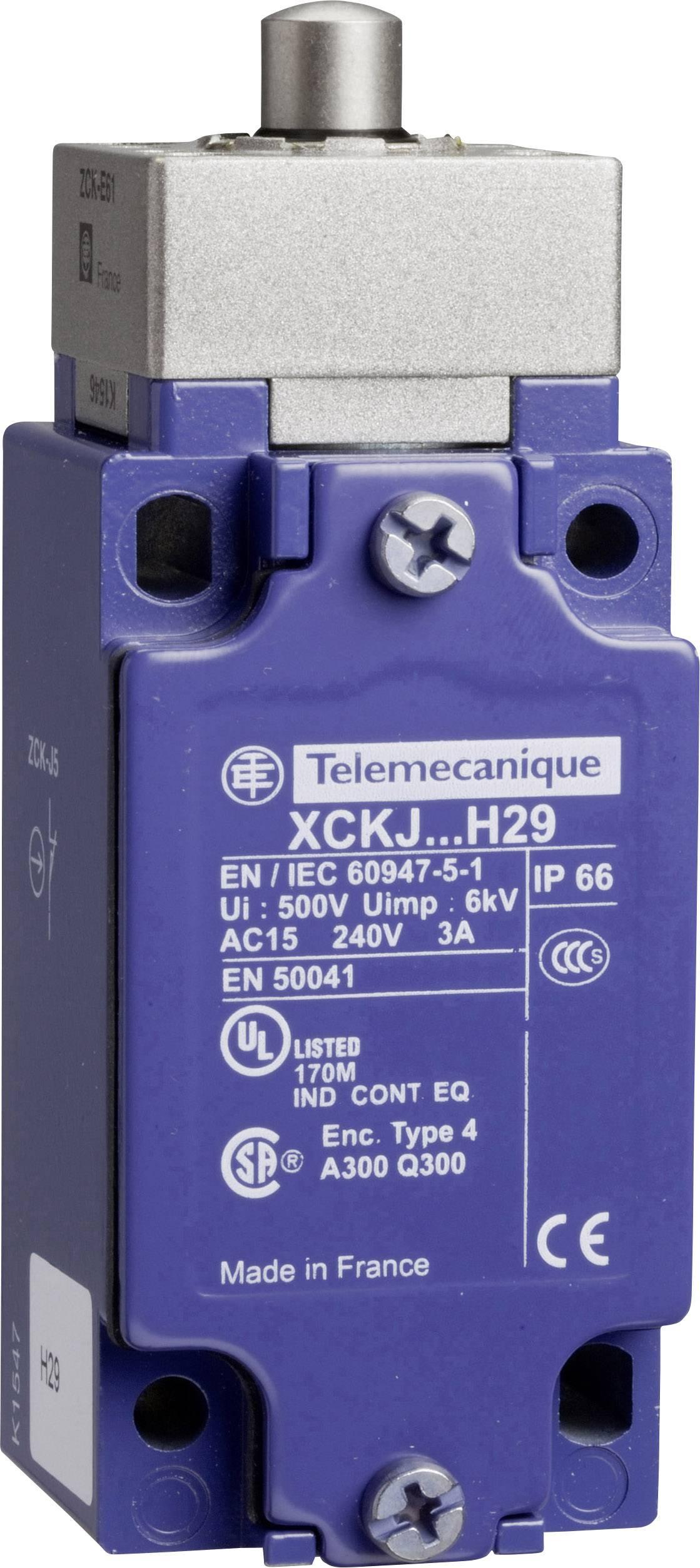 Koncový spínač Schneider Electric XCKJ161H29, zdvihátko, bez aretace, IP67, 1 ks