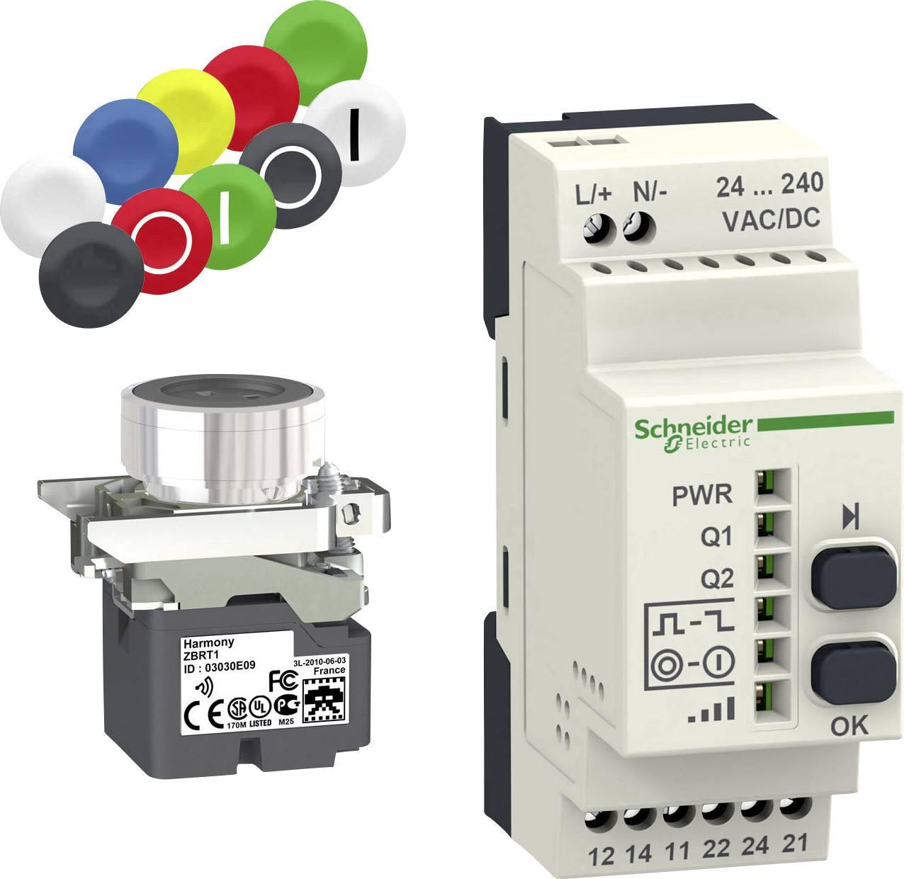 Tlačítko Schneider Electric XB4RFA02, 240 V/AC, 1.5 A, 1 sada