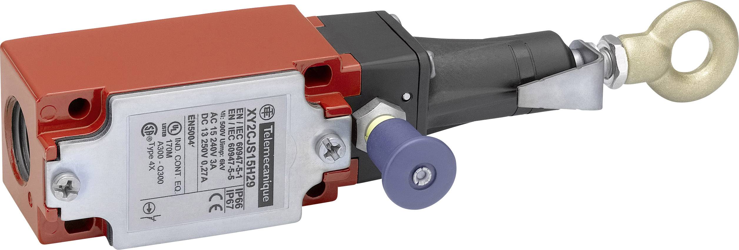 Lankový spínač Schneider Electric XY2CJS19H29, bez aretace, IP67, 1 ks