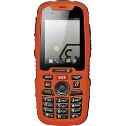 Mobilní telefon s ochranou proti výbuchu i.safe MOBILE IS320.1, 6.1 cm (2.4 palec, 4 GB, 2 Megapixel, oranžová