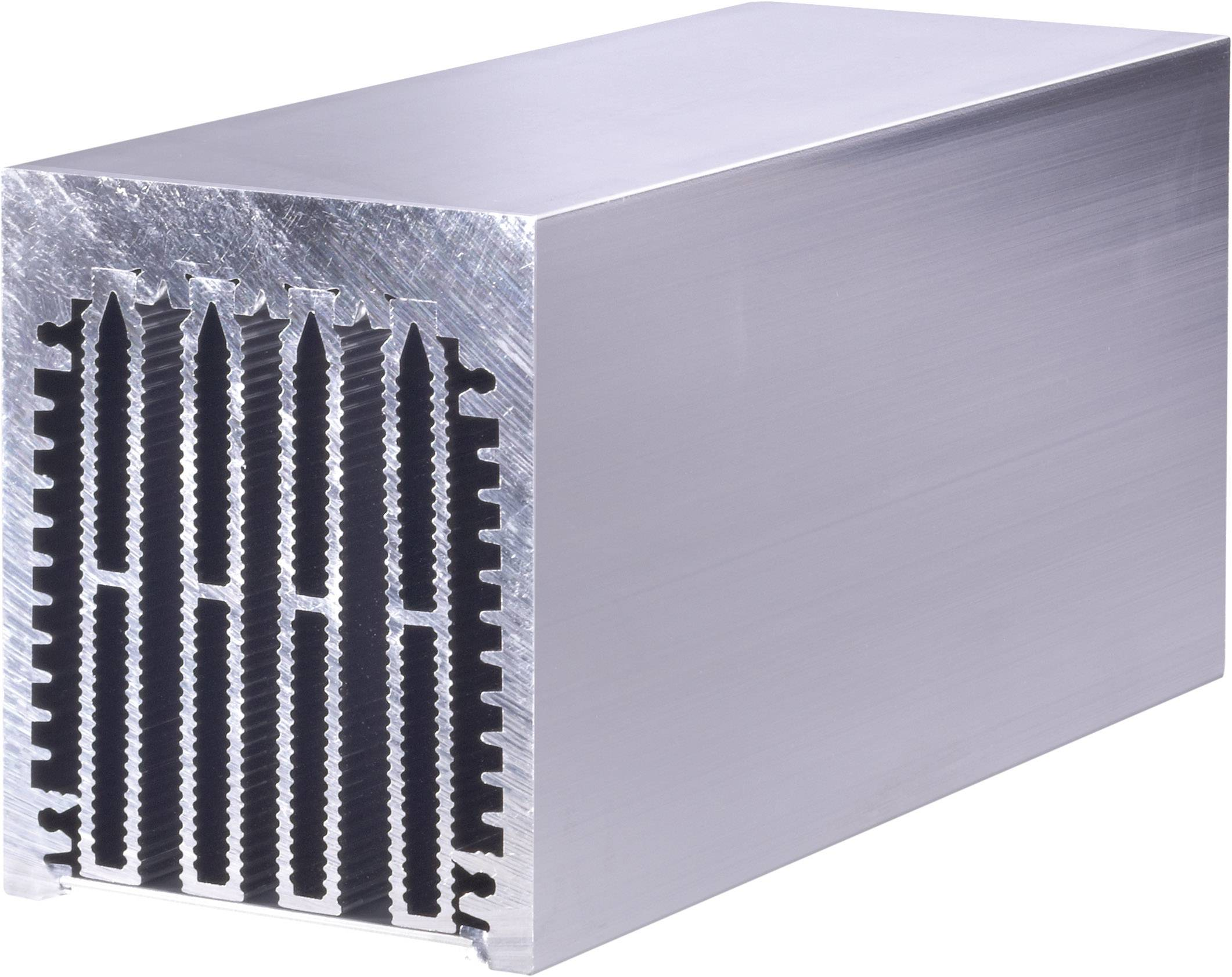 Profilový chladič Fischer Elektronik LA 6 150 AL, 0.3 K/W, (d x š x v) 150 x 75 x 62 mm