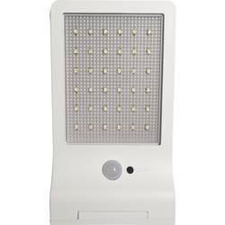 Venkovní solární nástěnné osvětlení s PIR senzorem Müller Licht 21000006 3 W, denní světlo, bílá