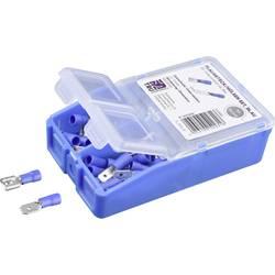 Krimpovací sada 1.50 mm² 2.50 mm² modrá TRU COMPONENTS TC-6646624 140 ks
