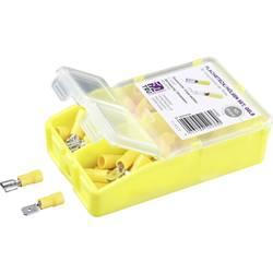 Krimpovací sada 4 mm² 6 mm² žlutá TRU COMPONENTS TC-6646632 140 ks