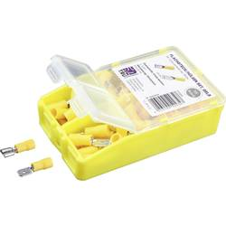 Krimpovací sada 4 mm² 6 mm² žlutá TRU COMPONENTS TC-6646636 140 ks